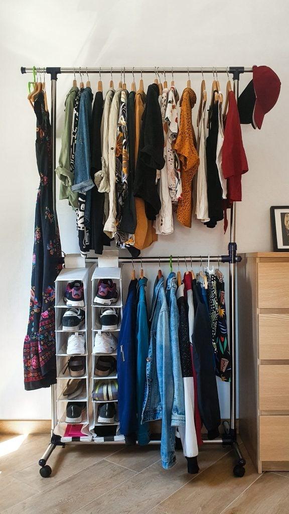 Organizing Clothes Closet