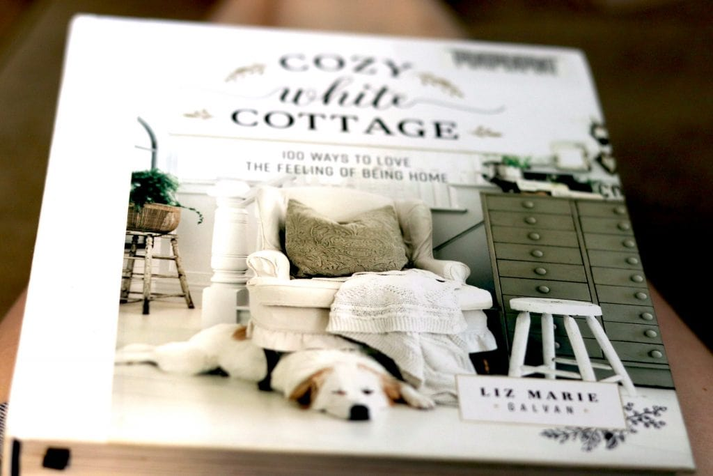 """Cover of a book called """"Cozy White Cottage"""""""